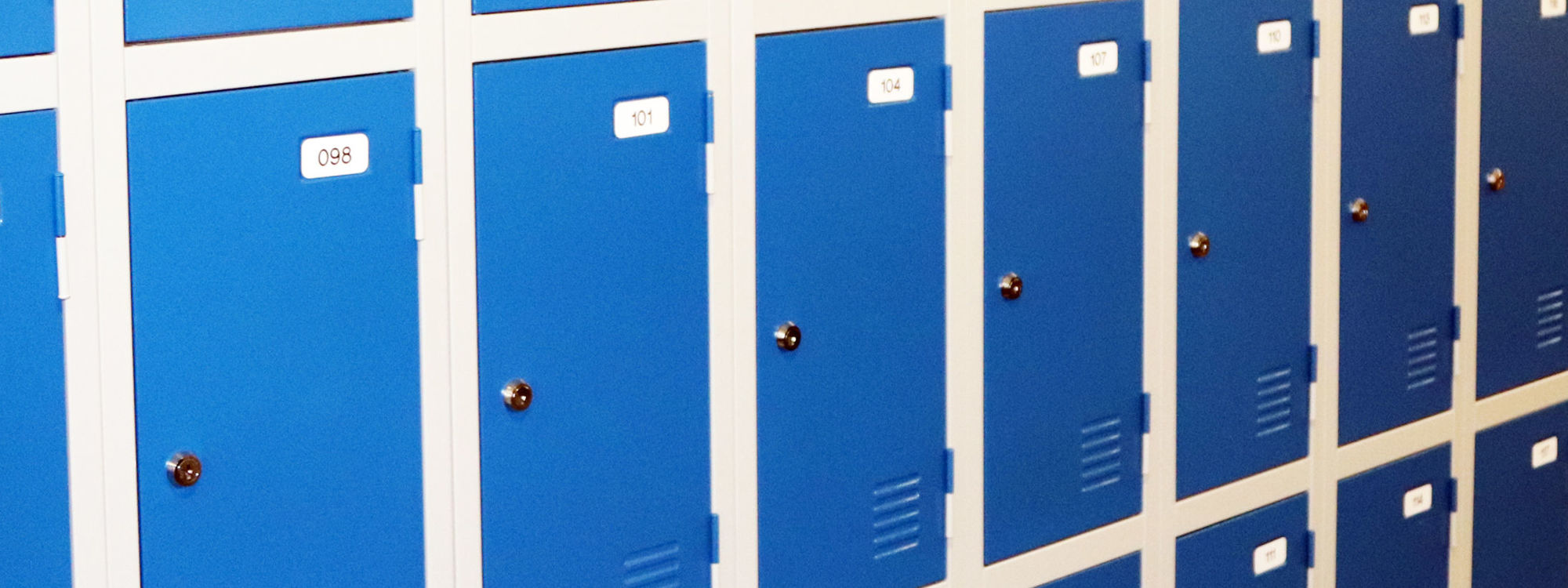 Lockers for web